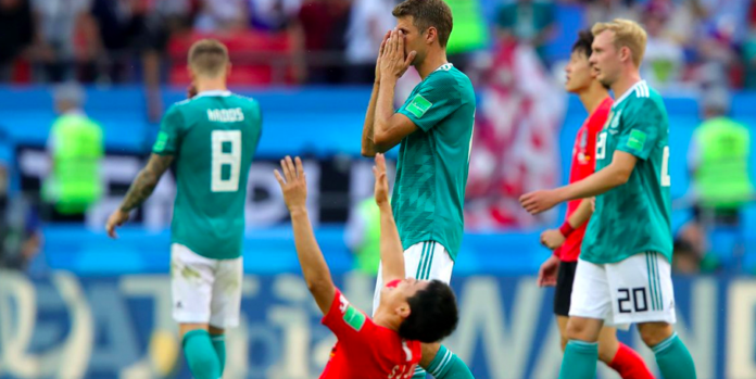 Fifa: Defending Champ Germany Knocked Out