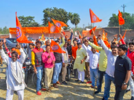 Ayodhya Put on Alert as VHP, Sena Workers Pour In