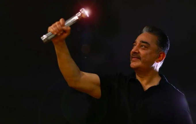 Will be Torchbearer', Tweets Kamal Haasan After Party Gets Poll Symbol