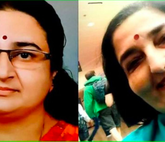 A 'new' daughter of well-known singer and Padma Shri awardee Anuradha Paudwal has surfaced in Kerala.